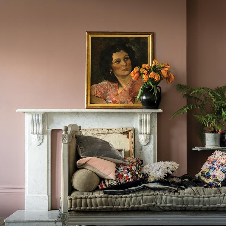 Farrow And Ball Sulking Room Pink No 295 rosa