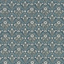 William Morris Morris Bellflowers Indigo/Linen
