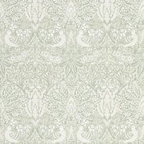 William Morris Pure Dove & Rose Grey Blue