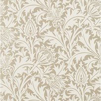 William Morris Pure Thistle Gilver (beaded)