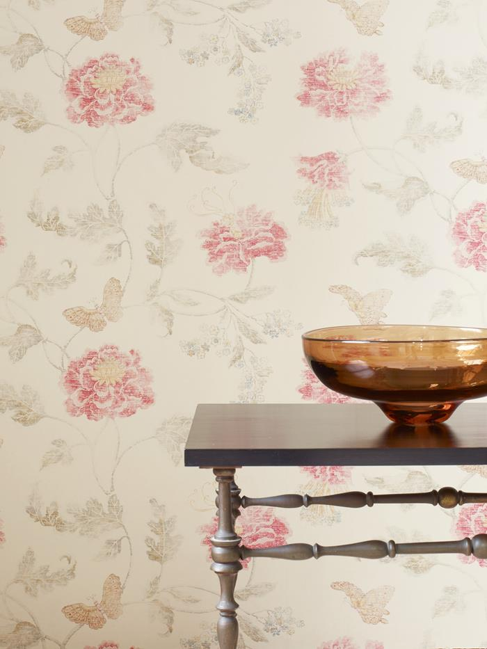 Colefax and Fowler Poppy & Butterfly