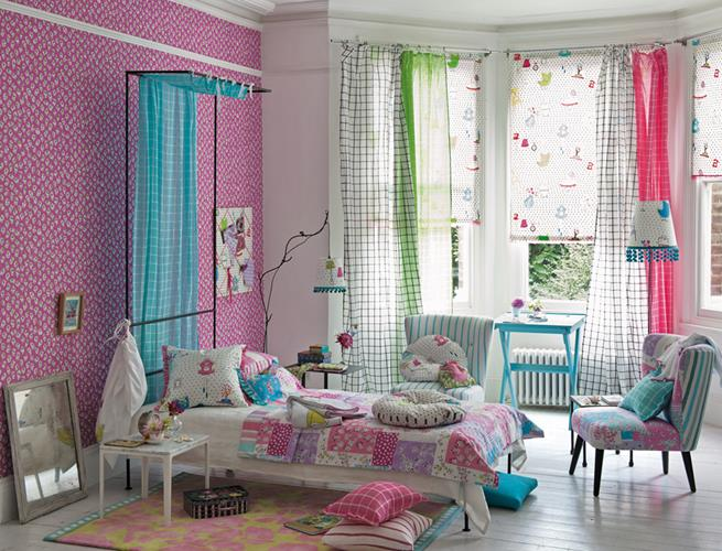 Designers Guild Daisypatch Tapet