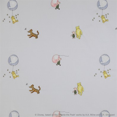 Jane Churchill Winnie the Pooh Balloon Embroidery Tyg