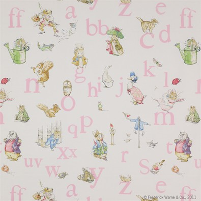 Jane Churchill Alphabet Beatrix Potter