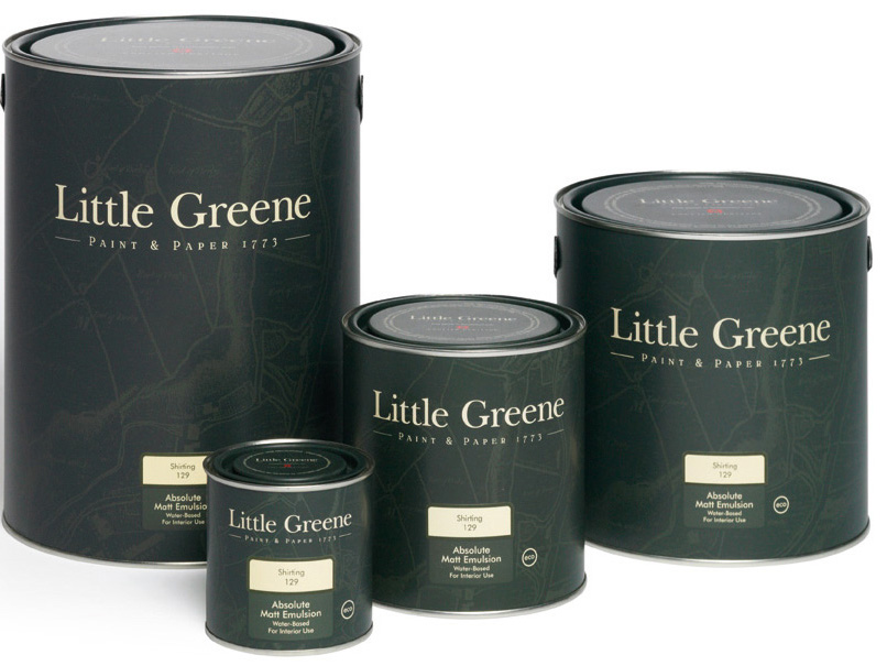 Little Greene French Grey - Mid 162